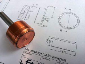 fijnmechanische tehniek technische tekening